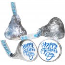 108 Father Day Hershey Kiss Labels Stickers Happy Father's Day Kisses #1