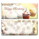 Birthday Party Supplies 12 Personalized Candy Wrappers For Hershey Bar Cupcakes