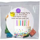 LEGO CANDY BLOCKS BLOX PACK OF 10 PIECES FOR PARTY FAVOR CUSTOM LABEL CASE OF 25