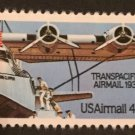 Scott C115 US Air Mail Stamp 1985 44c Transpacific MNH