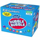 "DUBBLE BUBBLE 1"" GUMBALLS Vending Candy gumball 850 ASSORTED FRUIT bulk double"