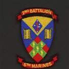 2ND BATTALION 5TH MARINES USMC MILITARY PATCH CAMP PENDLETON CALIFORNIA WARRIOR.