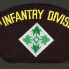 4TH INFANTRY DIVISION HAT PATCH 4 ID FORT CARSON IVY PIN UP US ARMY VETERAN GIFT