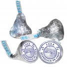 108 Cuba Party Hershey Kiss Kisses Labels Stickers Party Favors, Gift Bags