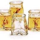 GROOM GIFTS PANTS UP 6 SHOT GLASSES SET PARTY VODKA TEQUILA DRINK KITCHEN BAR
