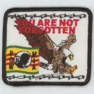 """YOU ARE NOT FORGOTTEN PATCH, POW-MIA, MILITARY PATCHES, BIKER PATCHES VIETNAM 3"""""""