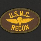 RECON JUMP WING PATCH PARACHUTE US MARINES ANGLICO WING HAT PIN GUNNEY HIGHWAY