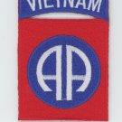 """US Army 82nd Airborne Vietnam Veteran Shoulder Patch 3"""" Biker Military"""