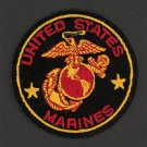 "United States Marine Corp MILITARY Patch Emblem USMC 3"" Round Motorcycle Biker"