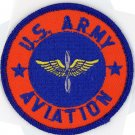"US ARMY AVIATION AVIATOR WINGS 3"" EMBROIDERED IRON-ON PATCH MILITARY BIKER VEST"