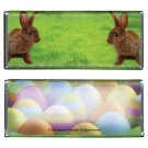 12 Easter Bunny Twins Hershey Candy Bar Wrappers Personalized Glossy Paper