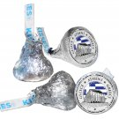 108 Athens Greece Birthday Hershey Kiss Labels Stickers Party Favors, Gift Bags