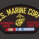 KOREAN WAR VETERAN 1950 1953 HAT PATCH US NAVY MARINES PIN UP VET GIFT KOREA