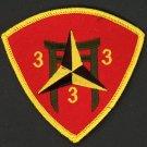 USMC 3rd Battalion 3rd Marines PATCH SOLDIER WARRIOR MARINE CORPS HAWAII 3BN 3RD