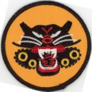 "US Army 4 Wheel Tank Destroyer Battalion 3"" Iron-On Patch Embroidered Military"
