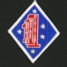 """USMC 1ST BATTALION 1ST MARINES REGIMENT 1ST DIVISION PATCH REPRO NEW 3"""""""
