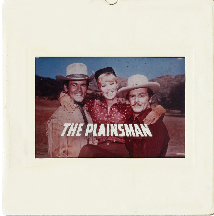 35mm SLIDE: HOLLYWOOD MOVIES: The Plainsman (1966)