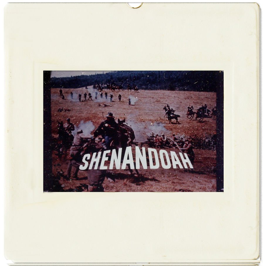 35mm SLIDE: HOLLYWOOD MOVIES: Shenandoah (1965)