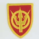 "US Army 4th Transport Command Shoulder Patch 3"" Veteran Military Biker"