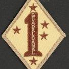 """USMC 1ST BATTALION 1ST MARINES REGIMENT 1ST DIVISION PATCH DESERT NEW 3"""""""
