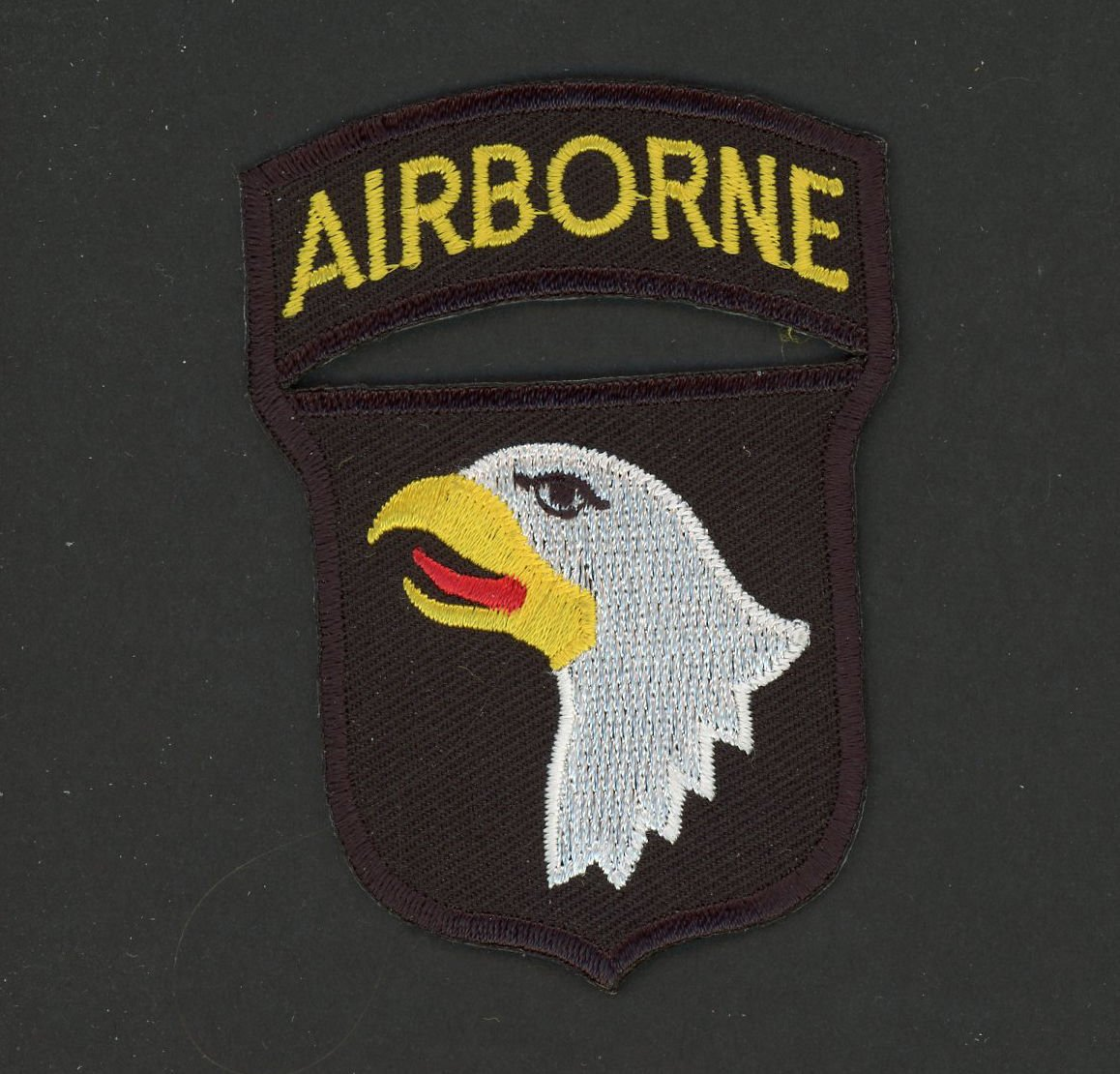 "Vietnam US Army 101st Airborne Division Patch With Attached Tab 3"" Veteran"