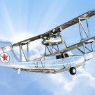 College Grad Gifts - Diecast Airplanes 1936 Keystone-Loenig Amphibian Commuter