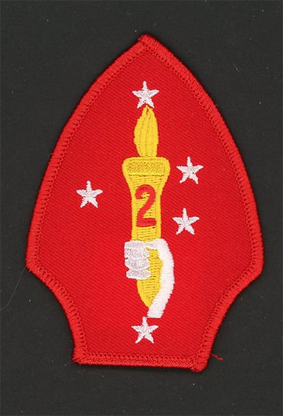 USMC 2nd Marine Division PATCH 2d MarDiv Marines! Class-A worthy / Former Combat