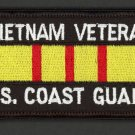 Embroidered Military Patch USCG US Coast Guard Vietnam Veteran Service Ribbon