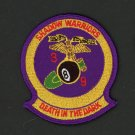 USMC Marine Corps Patch 3rd BATTALION 9th MARINES DEATH in the DARK Embroidered
