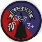 "LOCKHEED SKUNK WORKS SR-71 BLACKBIRD MACH 3 + USAF RECON TRS Squadron 3"" Patch"