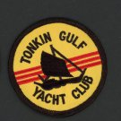 "TONKIN GULF YACHT CLUB NAVY VETERAN VIETNAM 3"" Patch USN Iron-On"