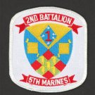 US Marine Corps 2nd Battalion 5th Marines Patch / Camp Pendleton
