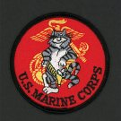 "US Marine Corps Patch Tom Cat Naval Aviation Tomcat USMC EGA 3"" Embroidered"