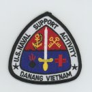 US Naval Support Activity Danang Vietnam Patch Navy NSA Military Embroidered 3""