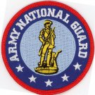 "US Army National Guard ARNG Embroidered Iron-On 3"" Biker Patch Military Patch"