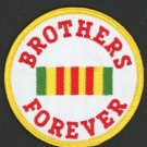 Brothers Forever Vietnam Veterans Embroidered Military Patch Iron Sew 3""