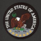 Great Seal Of The United States Of America Iron On Biker Vest Jacket Patch Crest