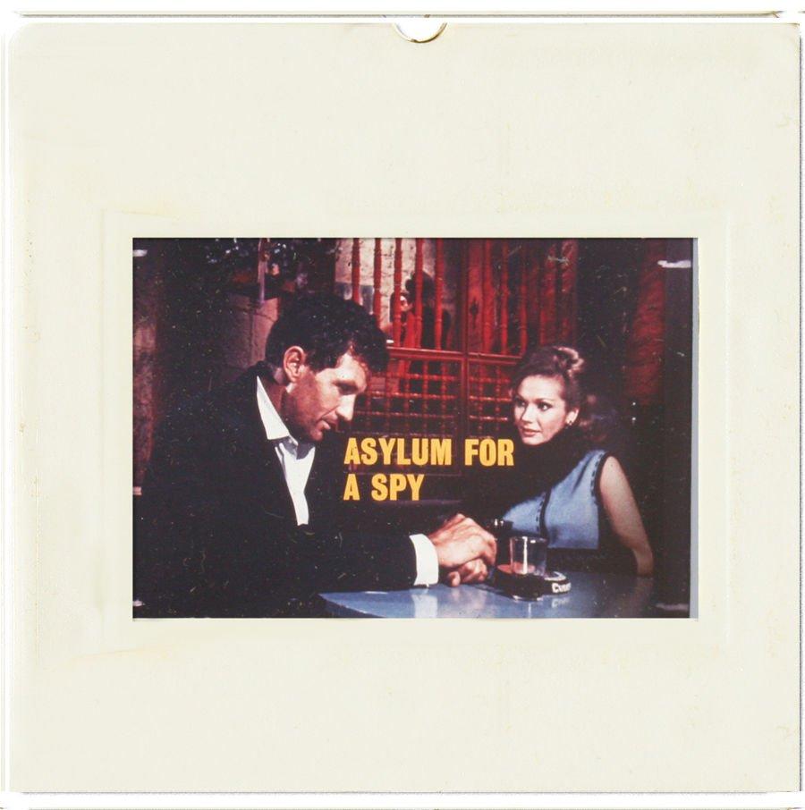 35mm SLIDE: HOLLYWOOD MOVIES: Asylum for a Spy
