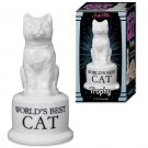 Novelty Gifts For Cats - Accoutrements World's Best Cat Trophy