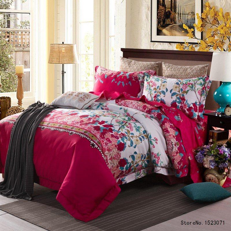 Luxury Egyptian cotton bedding set 6