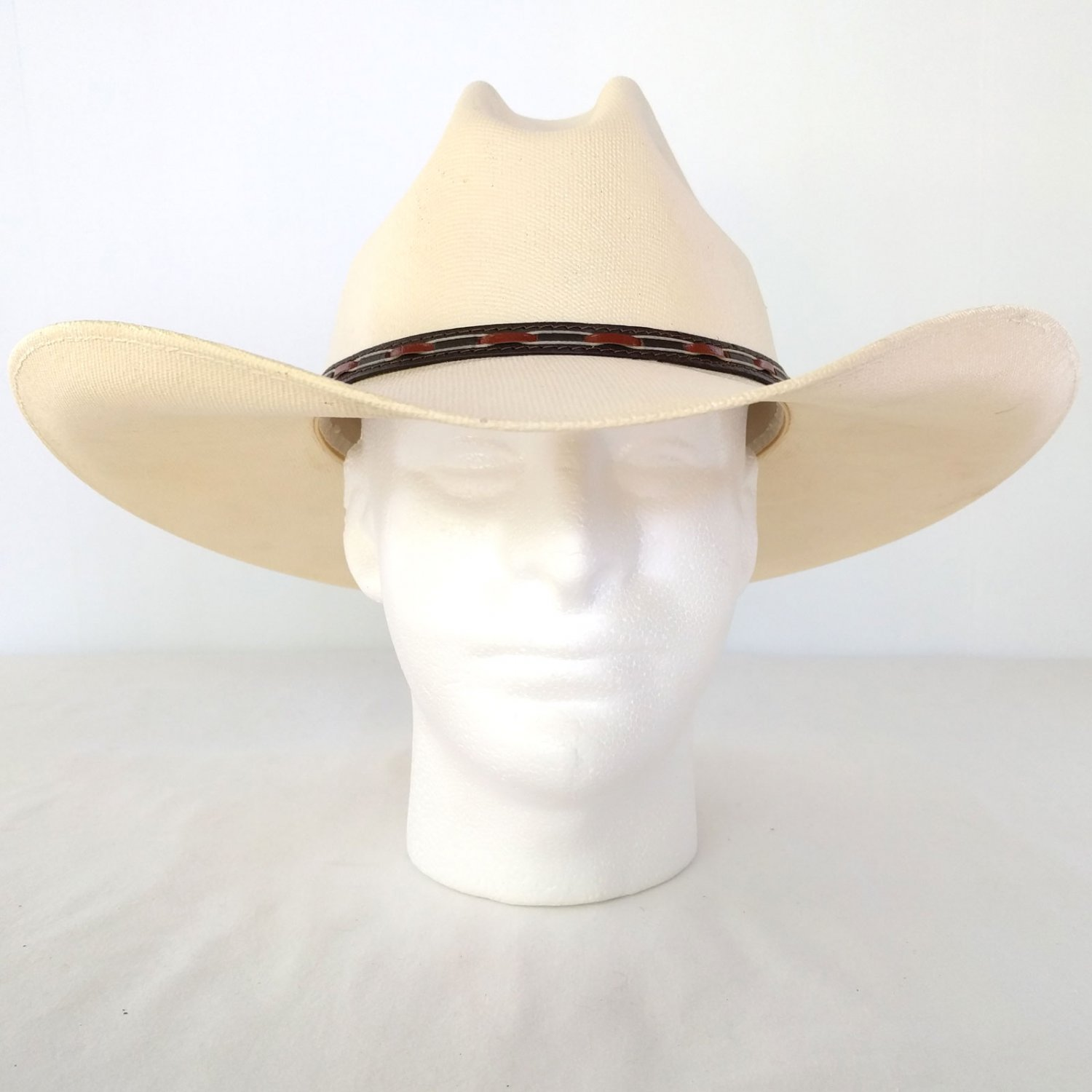 b6b8be57c TGH Quality Hats Gus Style Coated Straw Cowboy Western Size 7¼
