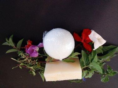 Lush Bath Bomb and Soap:Breathe Again! Congestion Soap-Vegan-USA Made-NO GMO