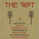 The Gist by Michael Marshall Smith - Hardcover English and French Text