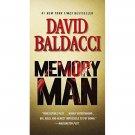 Memory Man by David Baldacci - Paperback Thriller/Suspense