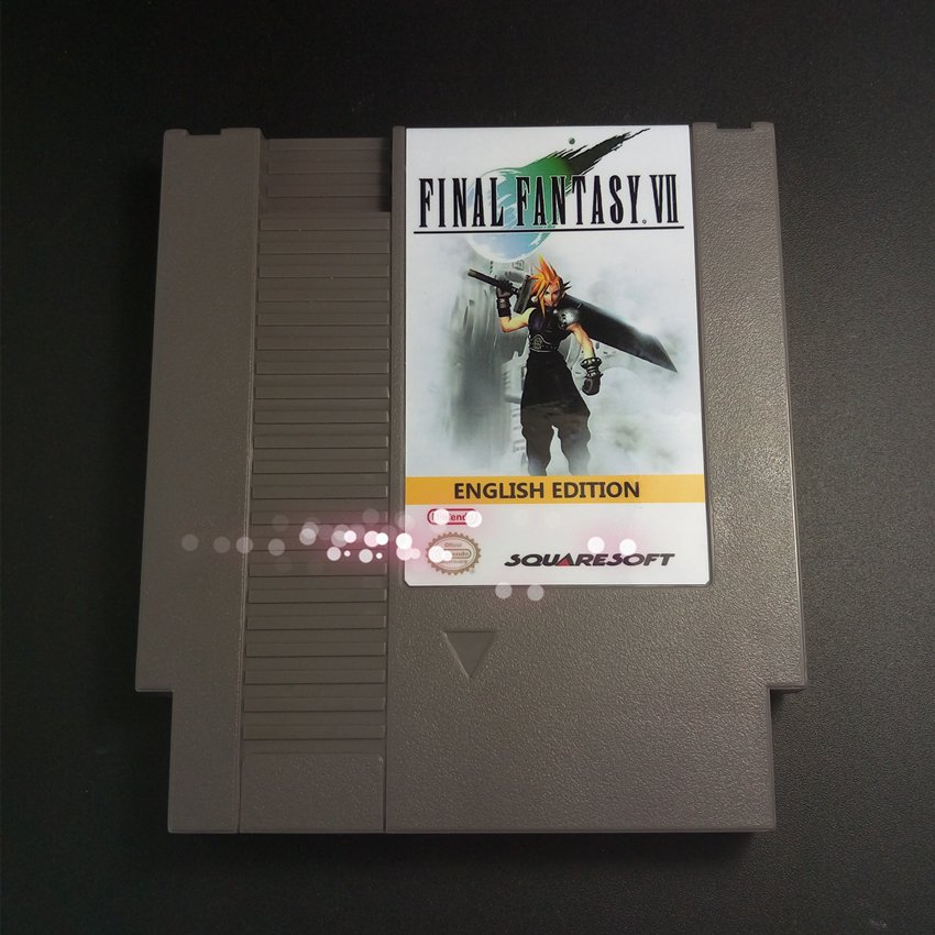 Final Fantasy VII English Edition For NES Final Fantasy 7 PokemonYellow