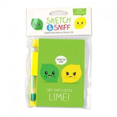 Scentco Note Pad: Lemon Lime