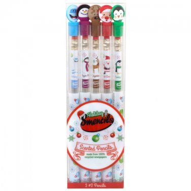 Scentco Holiday Smencils 5-Pack