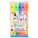 Sketch & Sniff Gel Crayons 5-Pack