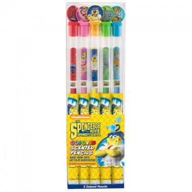 Spongebob Squarepants: Colored Smencils 5-Pack