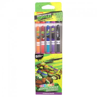 Teenage Mutant Ninja Turtles: Colored Smencils 5-Pack